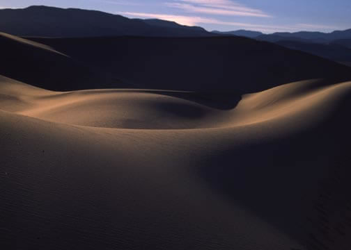 Death Valley Sand Dunes Gary Reckling, Inyo County