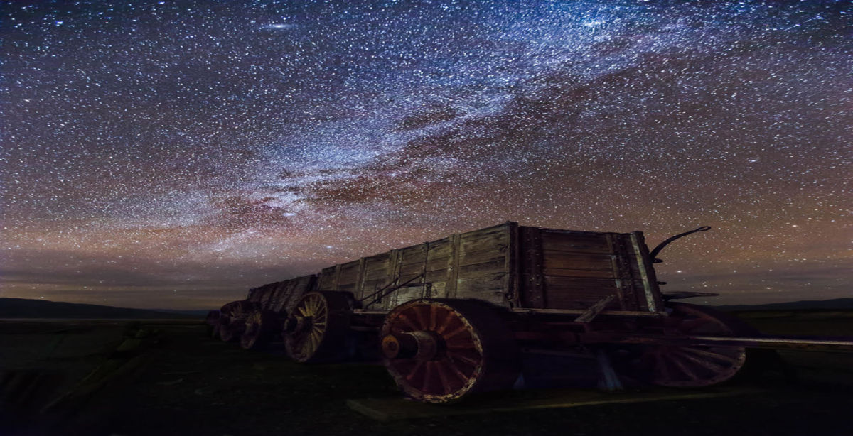 Borax Wagon Death Valley Stars