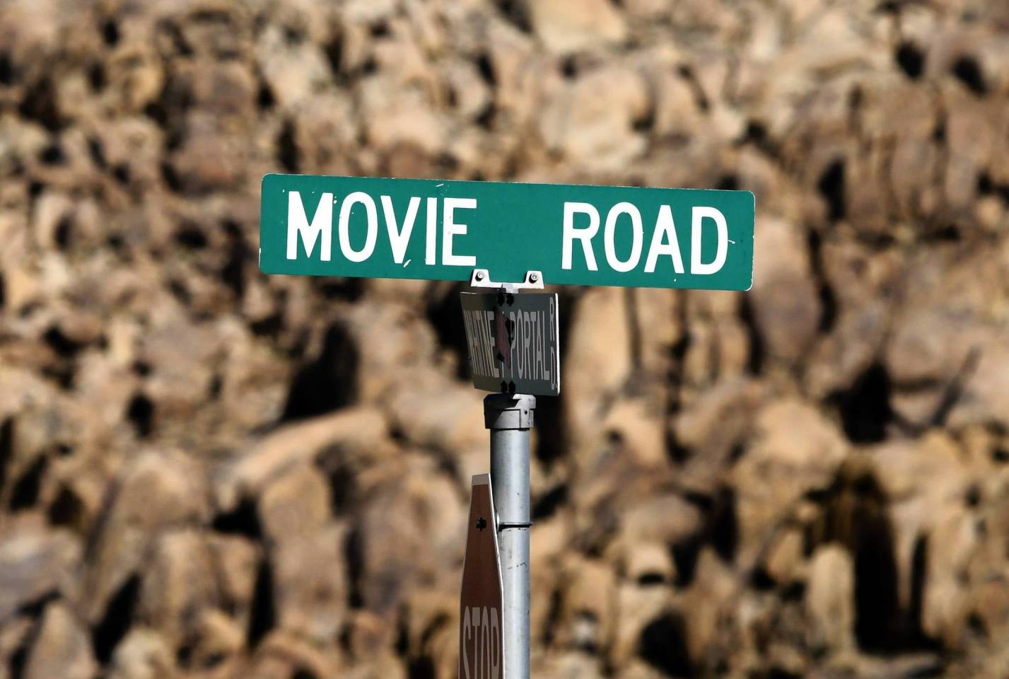 LA Times Photo of Movie Road, Inyo County