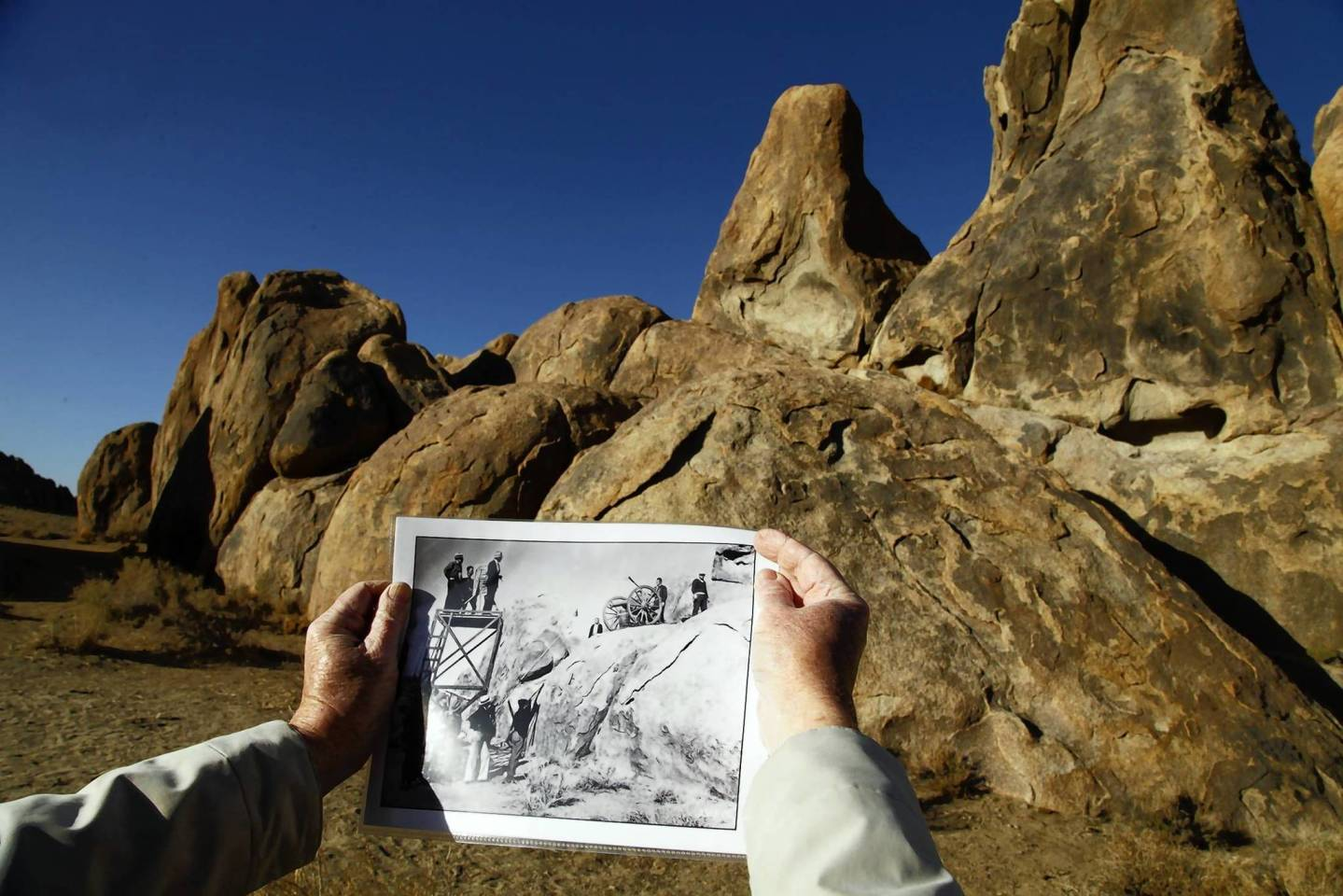 LA Times Photo of Alabama Hills, Inyo County